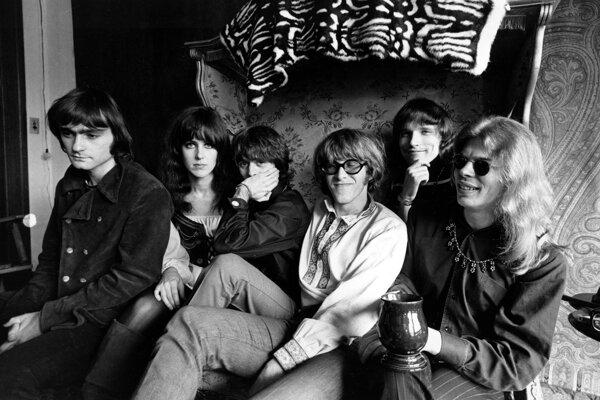 Na archívnej snímke členovia skupiny Jefferson Airplane.