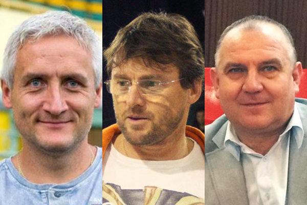 Robert Šuník, Ľubomír Moravčík a Pavol Šípoš zvedú boj o post predsedu ZsFZ.