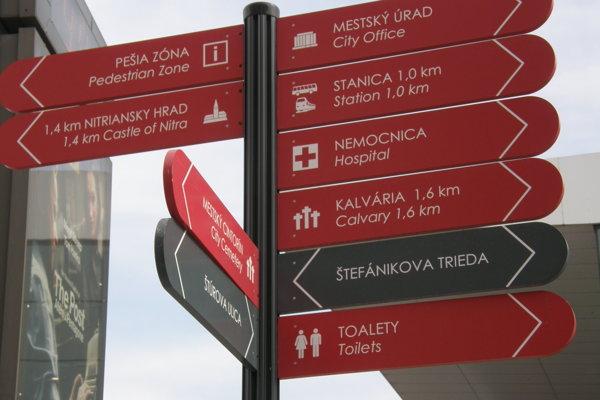 Mestský úrad je na tabuľkách preložený doslovne - ako city office.