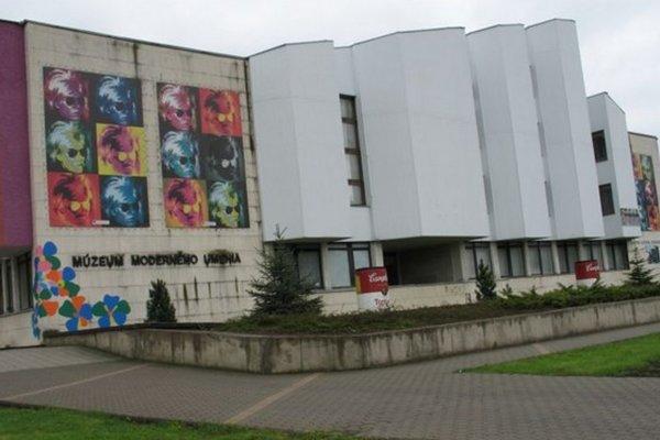 Múzeum moderného umenia Andyho Warhola v Medzilaborciach.