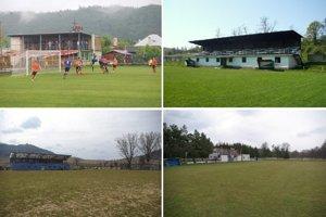 Štyri zaujímavé dedinské štadióny. Každý je iný, každý niečím výnimočný.