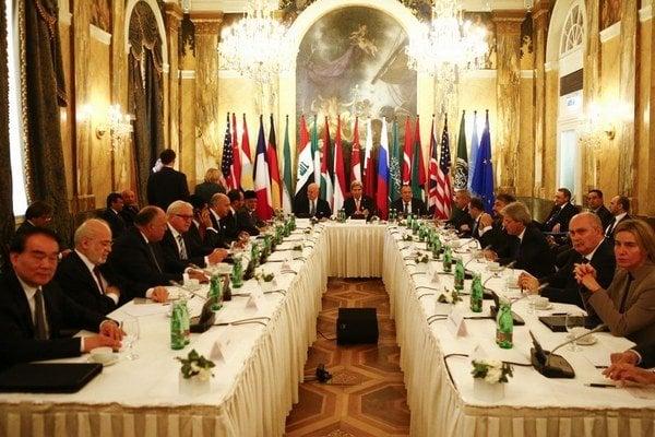 Prvé a druhé kolo viedenských rozhovorov prebehli 30.10. a 14.11.