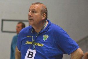 Tréner Ján Packa.