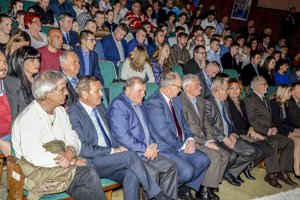 Oceňovania sa zúčastnili aj čestní hostia a starostovia obcí.