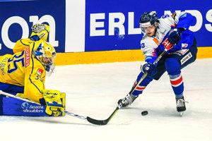 Slovenský hokejista Filip Krivošík.