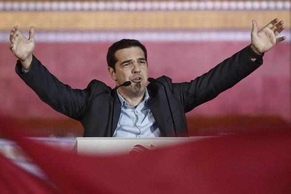 Nový grécky premiér Alexis Cipras.