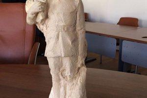 Model sochy od Jána Svíteka zverejnil nitriansky poslanec na sociálnej sieti.