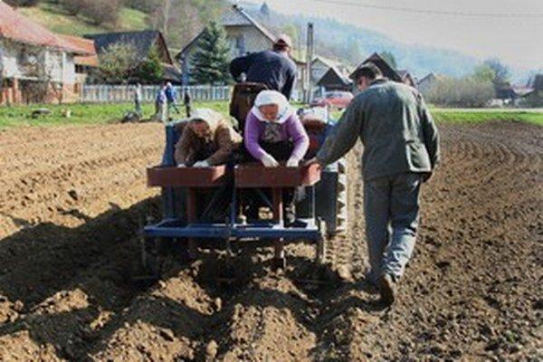 Európska únia chce okrem iného finančnou podporou riešiť aj klesajúci počet mladých farmárov na vidieku.