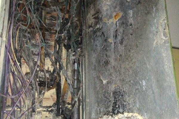 Zničenú elektroinštaláciu zrejme bude nutné opravovať pár dní.