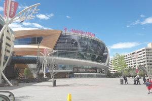 Štadión hokejistov Vegas Golden Knights.