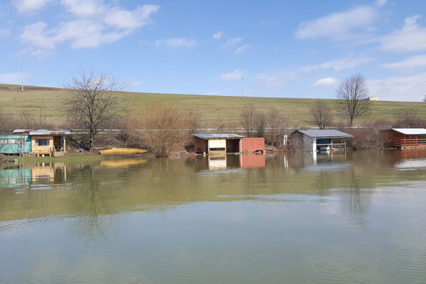 Záplavy na Domaši.