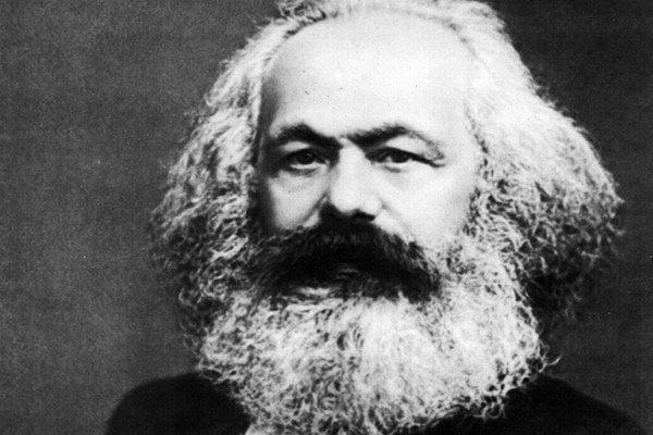 Filozof Karl Marx.