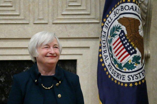 Guvernérka Federálneho rezervného systému (Fed) Janet Yellenová.