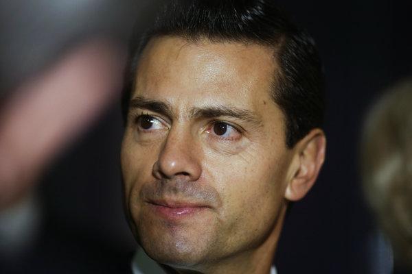 Mexický prezident Enrique Pena Nieto.