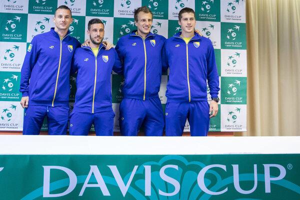 Tenisti Bosny a Hercegoviny zdolali Slovensko.