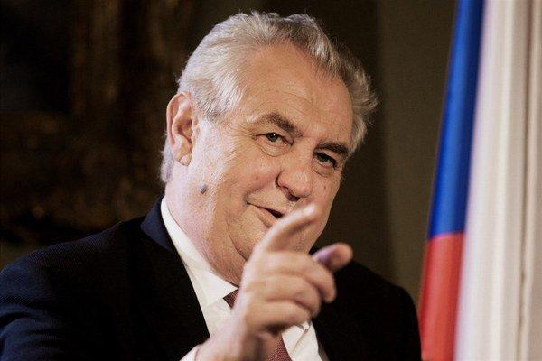 Prezident Miloš Zeman opäť prekvapil – tentoraz v dobrom.