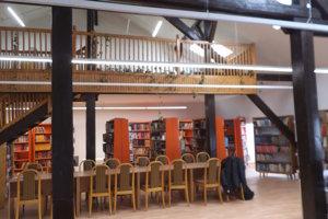 Takto vyzerá knižnica po stavebných úpravách.
