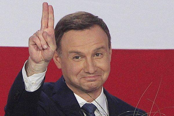 Nový poľský prezident Duda.