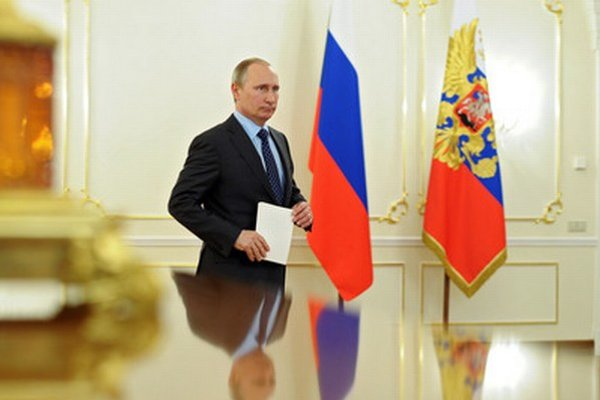 Ruský prezident Vladimir Putin.
