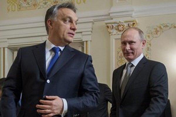Orbán a Putin.