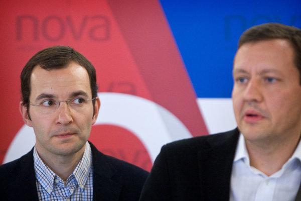 Robert Žitňanský (vľavo).