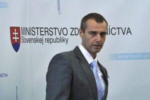 5. december 2009. Z tlačovej konferencie ministra zdravotníctva SR Richarda Rašiho.