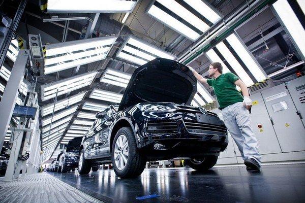 Bratislavský Volkswagen je jedným z najlepších závodov nemeckej skupiny.