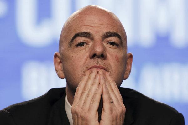Šéf FIFA Gianni Infantino.