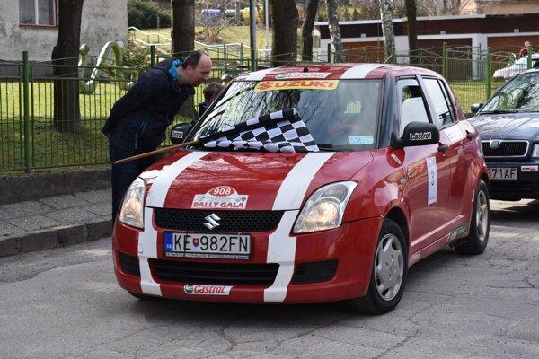Handlovská Veľkonočná rallye.