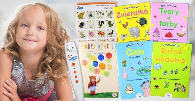 Hovoriacich kníh je veľké množstvo. Môžete si vybrať napríklad podľa záľub dieťaťa.