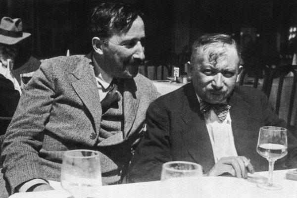 Stefan Zweig a Joseph Roth.