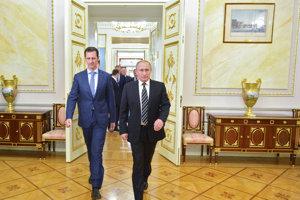 Asadov verný spojenec Putin posiela do Sýrie aj ruských žoldnierov.