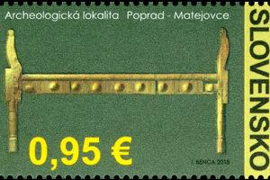 Nová poštová známka.
