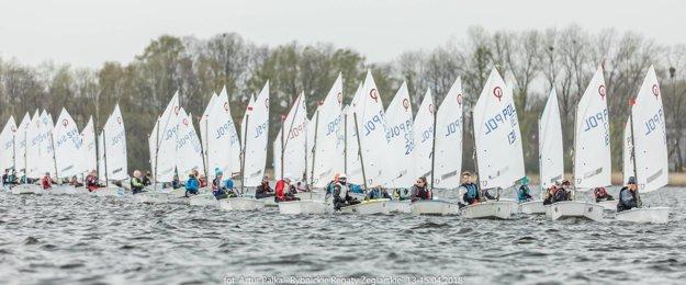 Jachtárske preteky v Poľsku.
