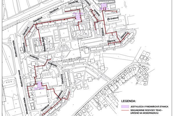 Na týchto všetkých miestach bude mestský podnik rekonštruovať.