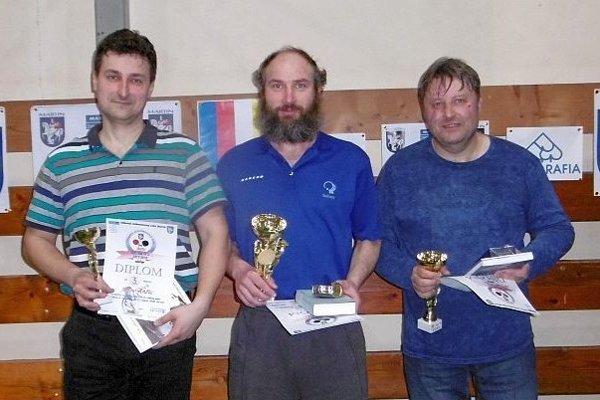 Zľava: Anton Ančic, Peter Balko aIvan Butkaj.