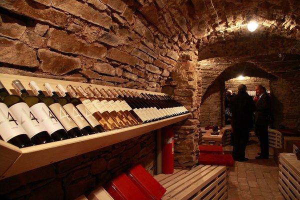 Salón karpatských vín.
