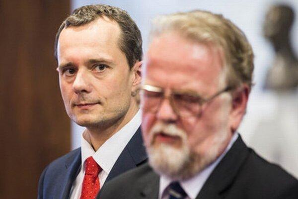Peter Osuský a Radoslav Procházka.