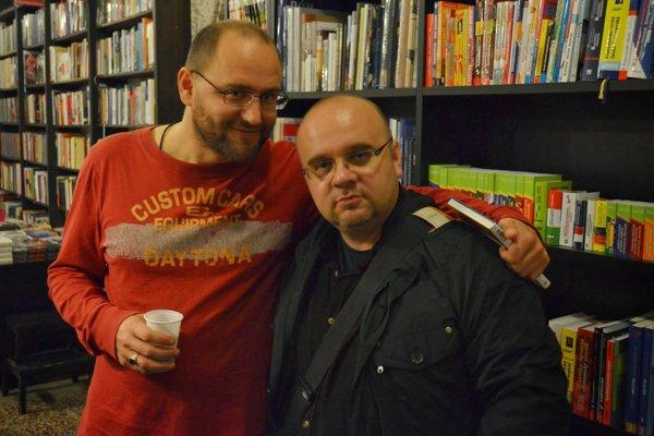 Dado Nagy a Peter Krištúfek, rok 2013.