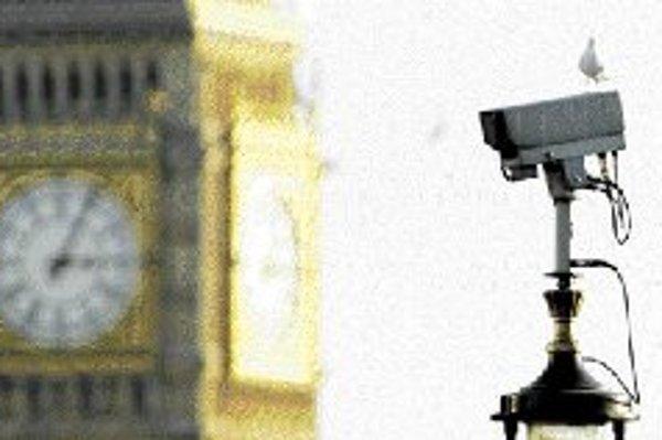 Londýn pred kamerou.