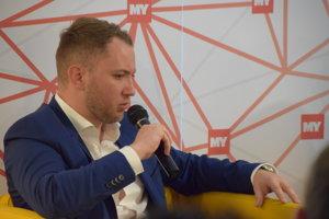 Diskutuje Martin Kapitulík – poslanec zastupiteľstva ŽSK a mesta Žilina.