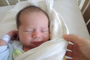Richard Pakan (3480 g, 49 cm) sa narodil 14. apríla Marii a Petrovi z Trenčína.