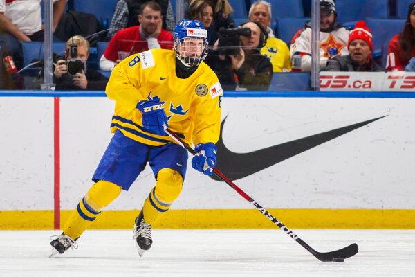 Rasmus Dahlin by sa mal stať jednotkou draftu.
