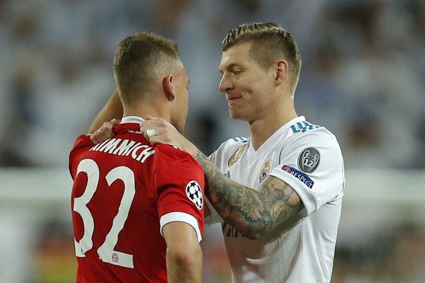 Futbalisti Realu Madrid postúpili do finále Ligy majstrov.