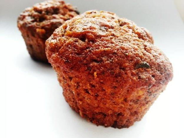 Jablkovo-mrkvové muffiny