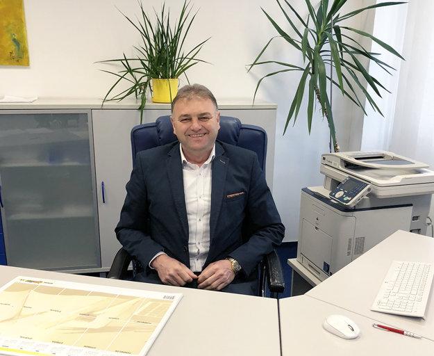 Konateľ firmy František Lišaník.