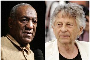 Bill Cosby (vľavo) a Roman Polanski.