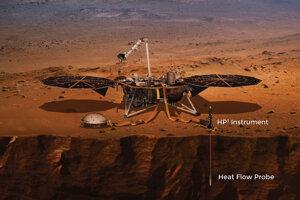 Sonda na meranie prenosu tepla z vnútra planéty. Zavŕta sa doposiaľ najhlbšie do povrchu Marsu - približne 5 metrov pod povrch.