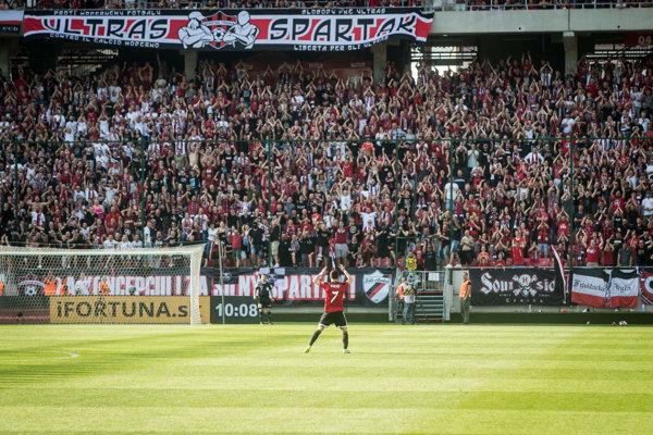 Na Spartak Trnava prišiel plný štadión.