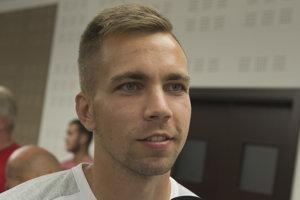 Slovenský futbalový reprezentant Jakub Považanec.